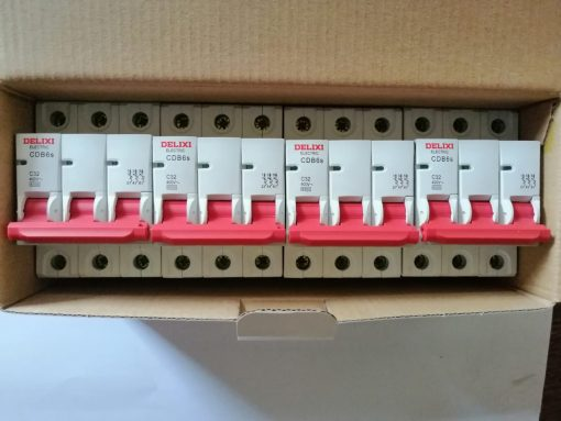 Delixi Electric 3pole, used electricals