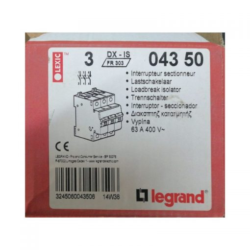 Legrand 63A Isolator