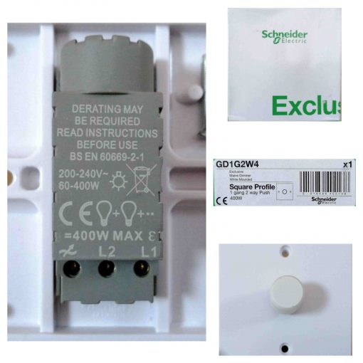 Schneider Push-button dimmer