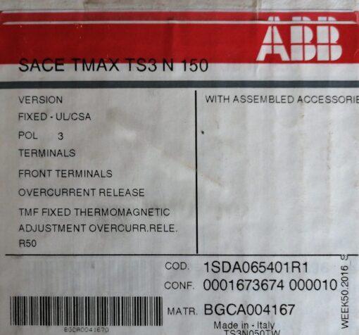 ABB 50A MCCB