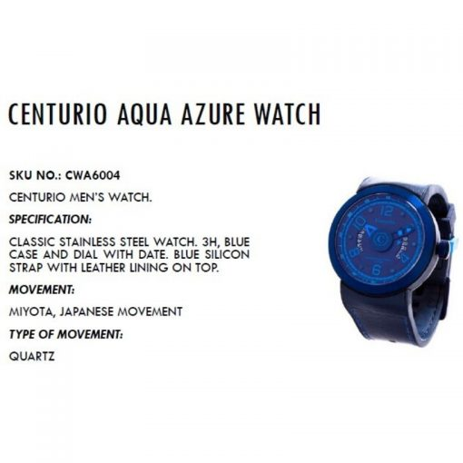 Centurio Aqua Azure Watch