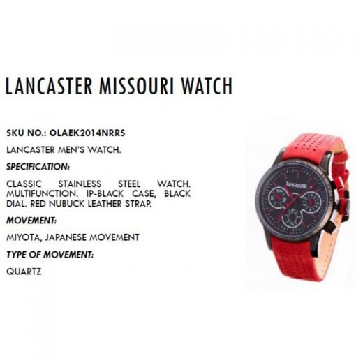 Lancaster Bonggo Watch