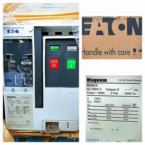 Eaton 3P 1600A ACB