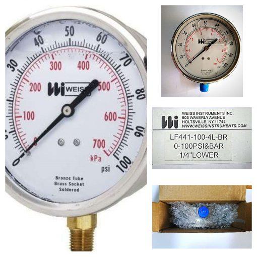 Weiss Pressure Gauges