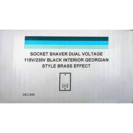 Gold Volex Shaver Socket