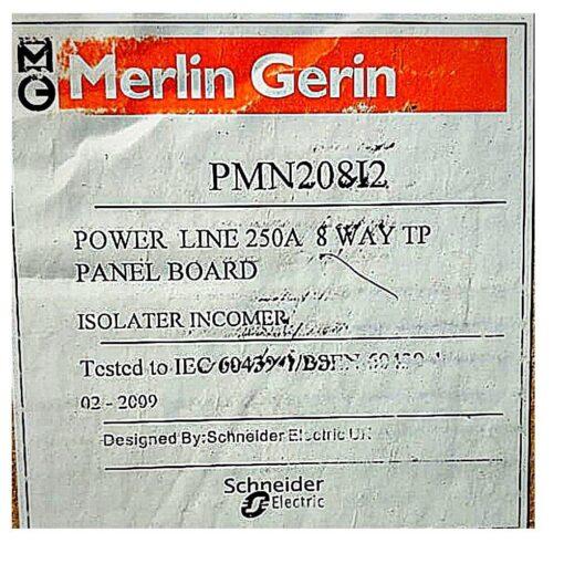 MG Empty Panelboard