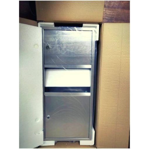 Paper Towel Dispenser Waste Receptacle (3)