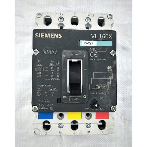 Siemens Mix MCCB