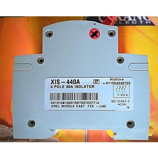 Sigma 4P 40A Isolator