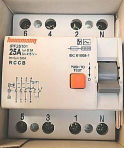 Hausmann 4P 25A RCCB (4)