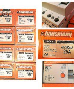 Hausmann 4P 25A RCCB