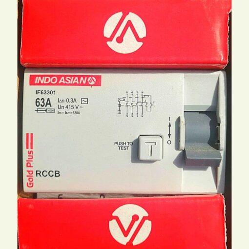 Indoasian 4P 63A RCCB
